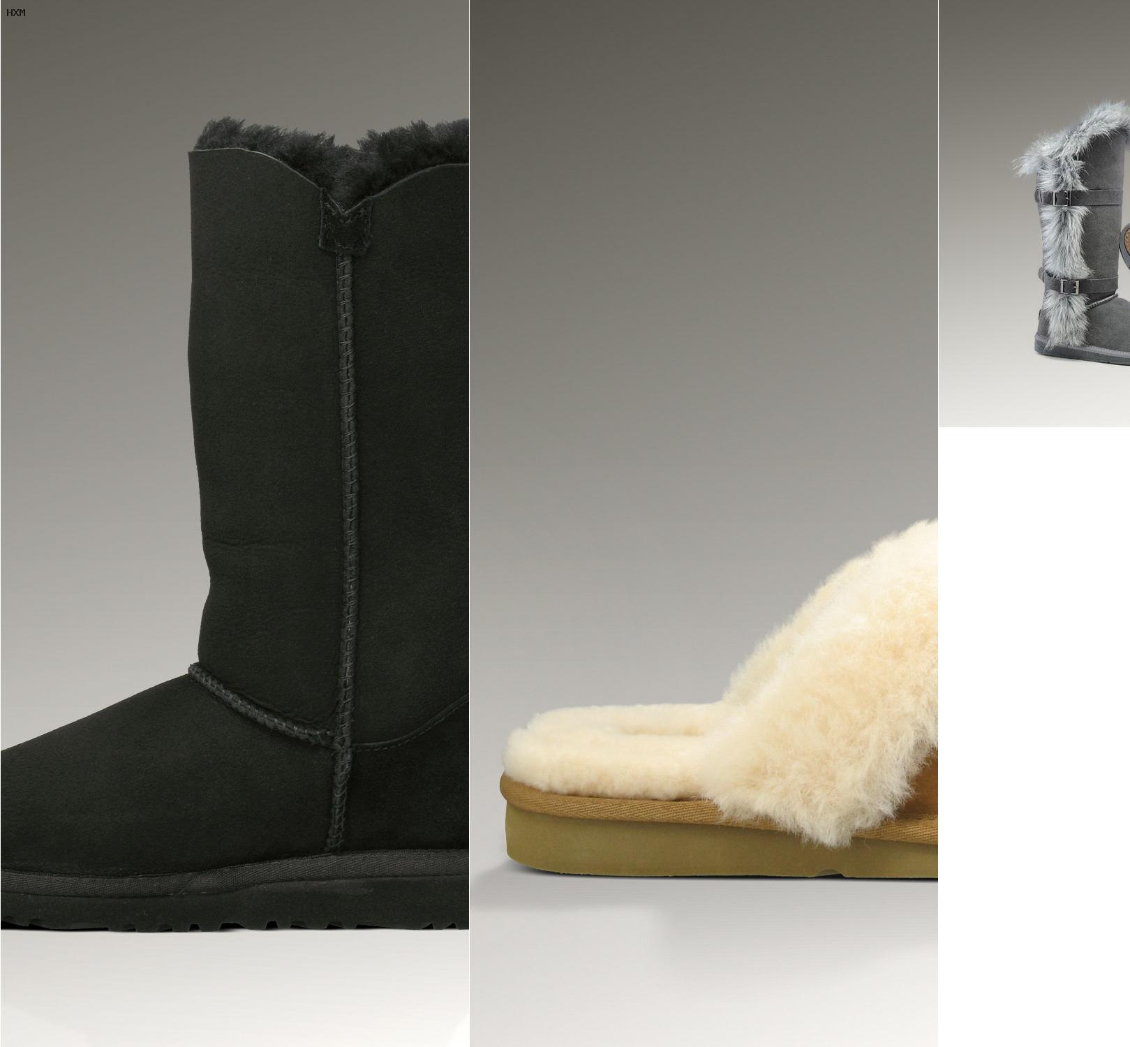 botas ugg mujer grises