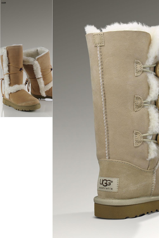 de que estan hechas las botas ugg